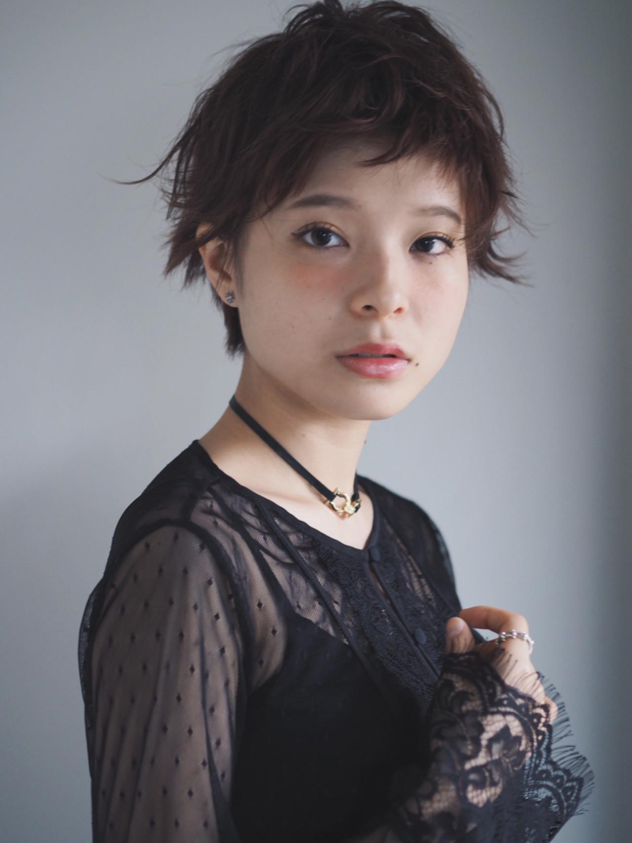 前髪あり ウルフカット フリンジバング マッシュ ヘアスタイルや髪型の写真・画像 | Natsuko Kodama 児玉奈都子 / dydi