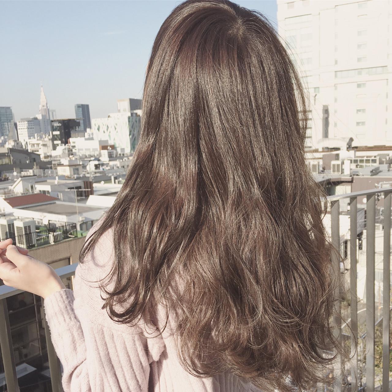 ハイライト 外国人風 ゆるふわ アッシュ ヘアスタイルや髪型の写真・画像 | 齋藤純也 / L.O.G by U-realm