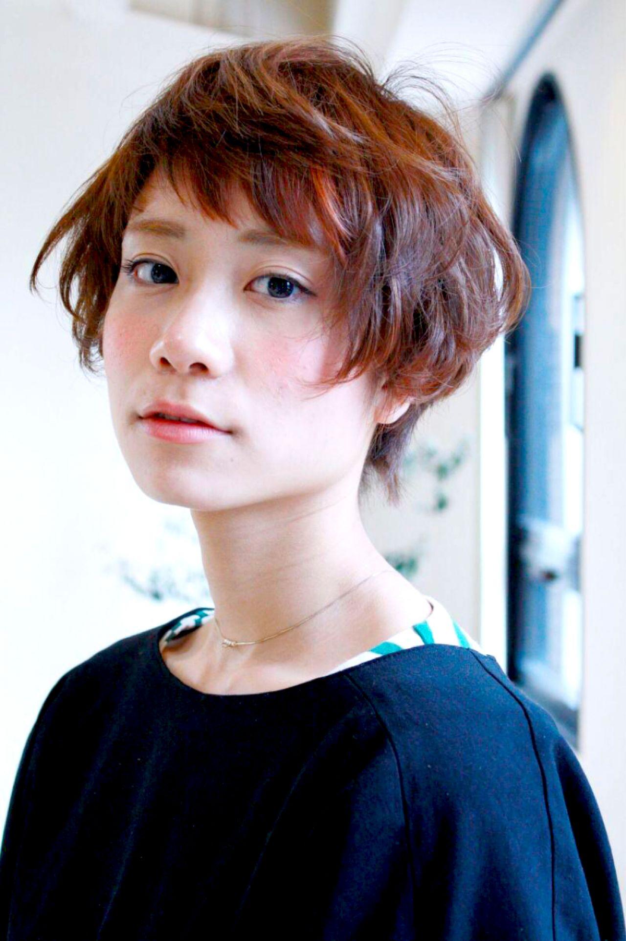顔小さいね♡って言われたい!小顔効果のある髪型まとめ 神田 愛理