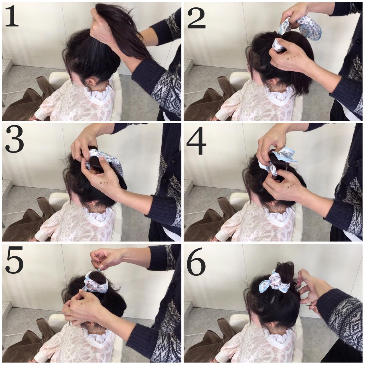 ヘアアクセ 簡単ヘアアレンジ ロング ガーリー ヘアスタイルや髪型の写真・画像 | takashi cawamura / HAIR & MAKE•UP TAXI