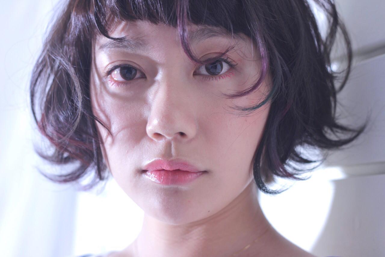 ハイライト グラデーションカラー モード フェミニン ヘアスタイルや髪型の写真・画像 | NON / hair&organic Lily