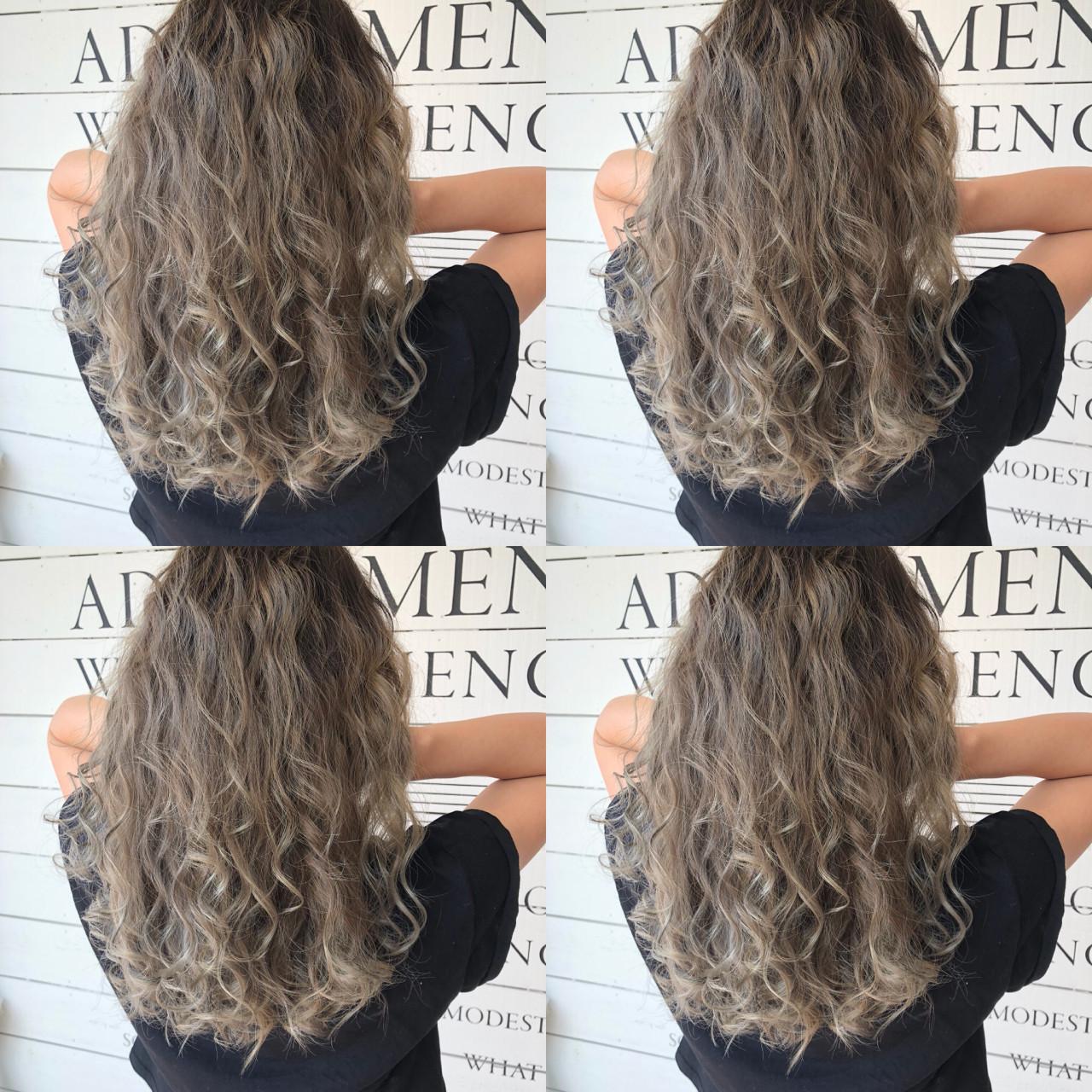 外国人風 ストリート 前髪あり ロング ヘアスタイルや髪型の写真・画像 | ARLY / FULL A HEAD