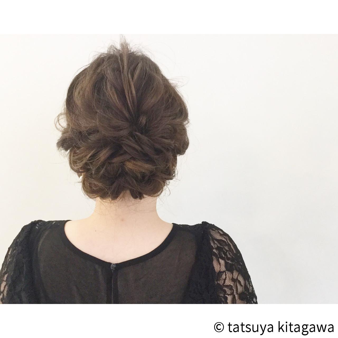 ハイライト ヘアアレンジ 花嫁 エレガントヘアスタイルや髪型の写真・画像