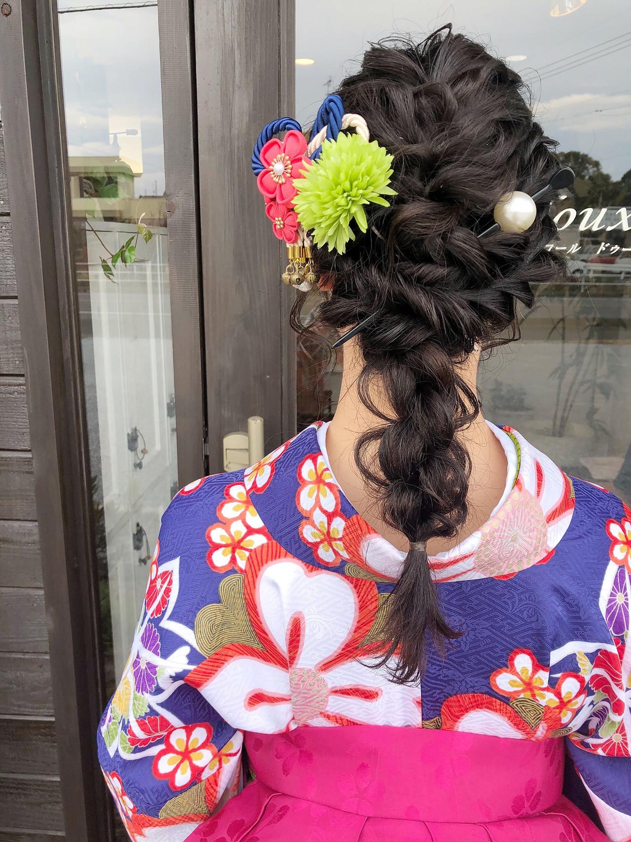 簡単ヘアアレンジ 結婚式 ヘアアレンジ デート ヘアスタイルや髪型の写真・画像 | Ryosuke Takaya / accorddoux