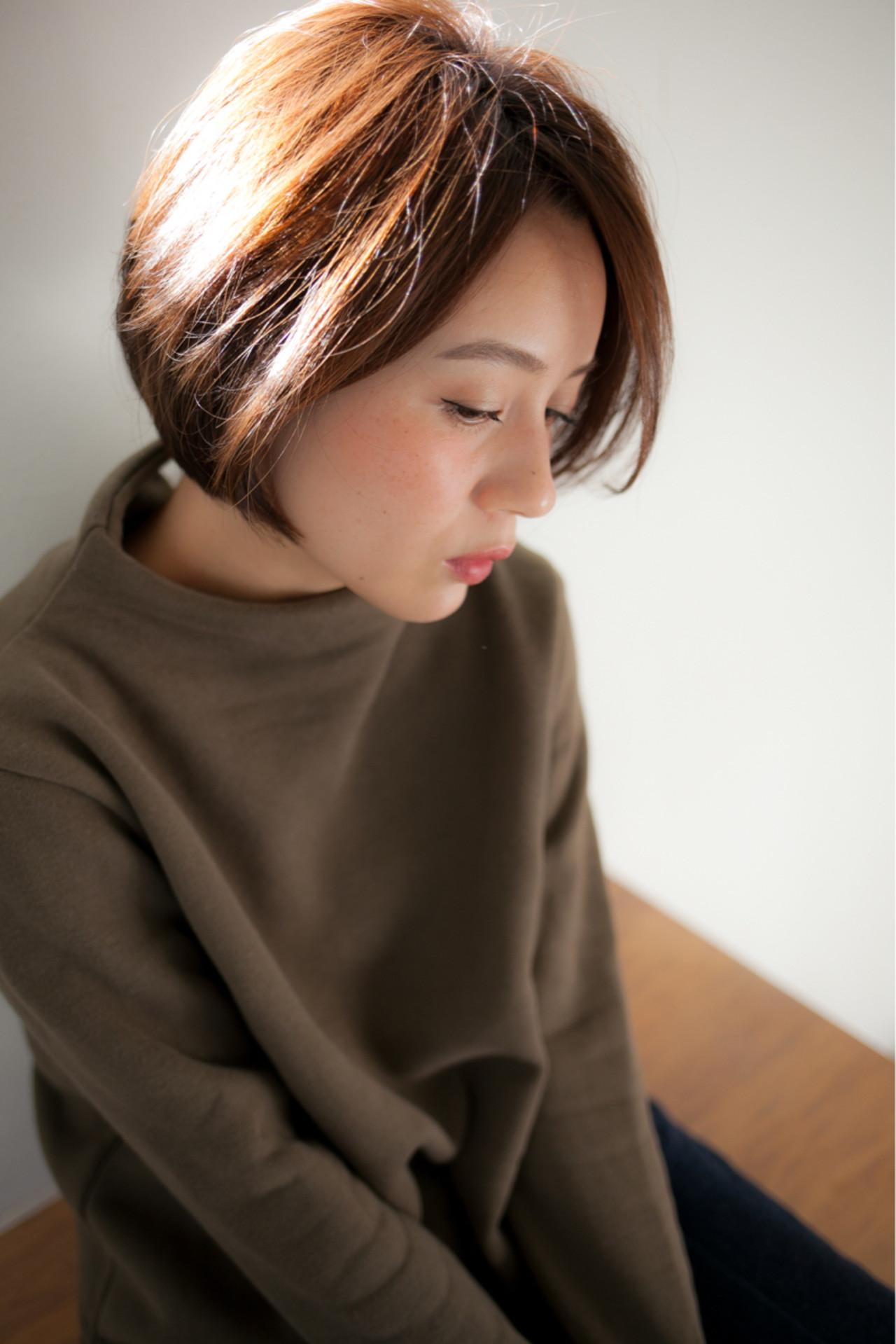 小顔 ナチュラル こなれ感 色気 ヘアスタイルや髪型の写真・画像   高田 紘希 / Rr hair salon