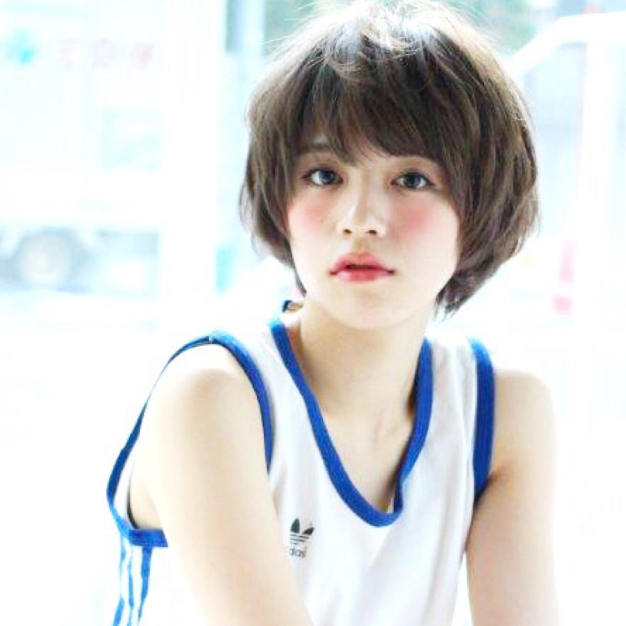 成人式後だからできる!今こそバッサリ、ショートヘアで新たな私に。 増永 剛大 / Un ami