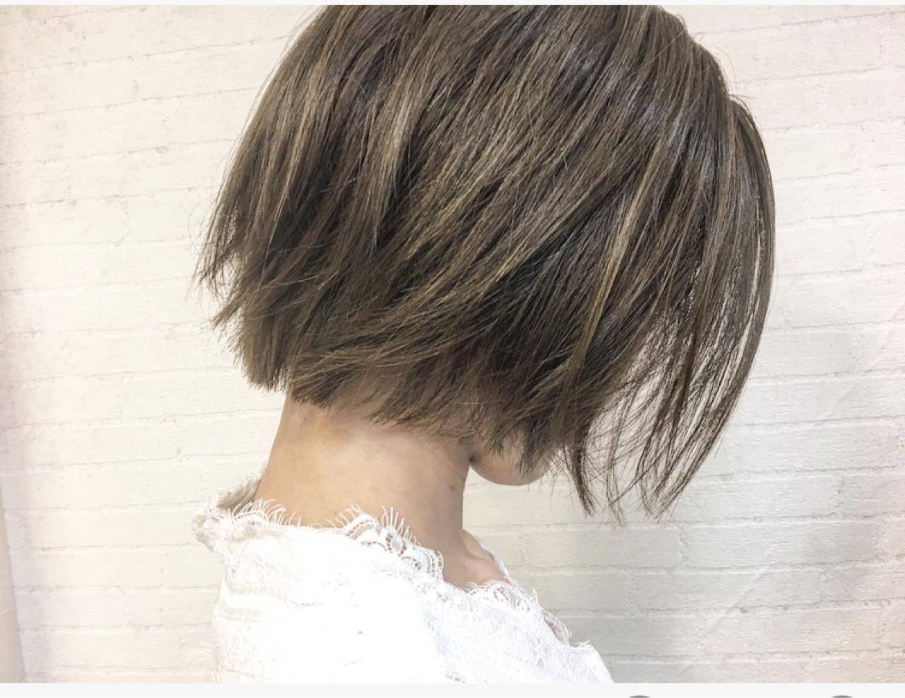 ボブ こなれ感 外ハネ ナチュラル ヘアスタイルや髪型の写真・画像 | 廣長 毅 / Lull/ vampdiva