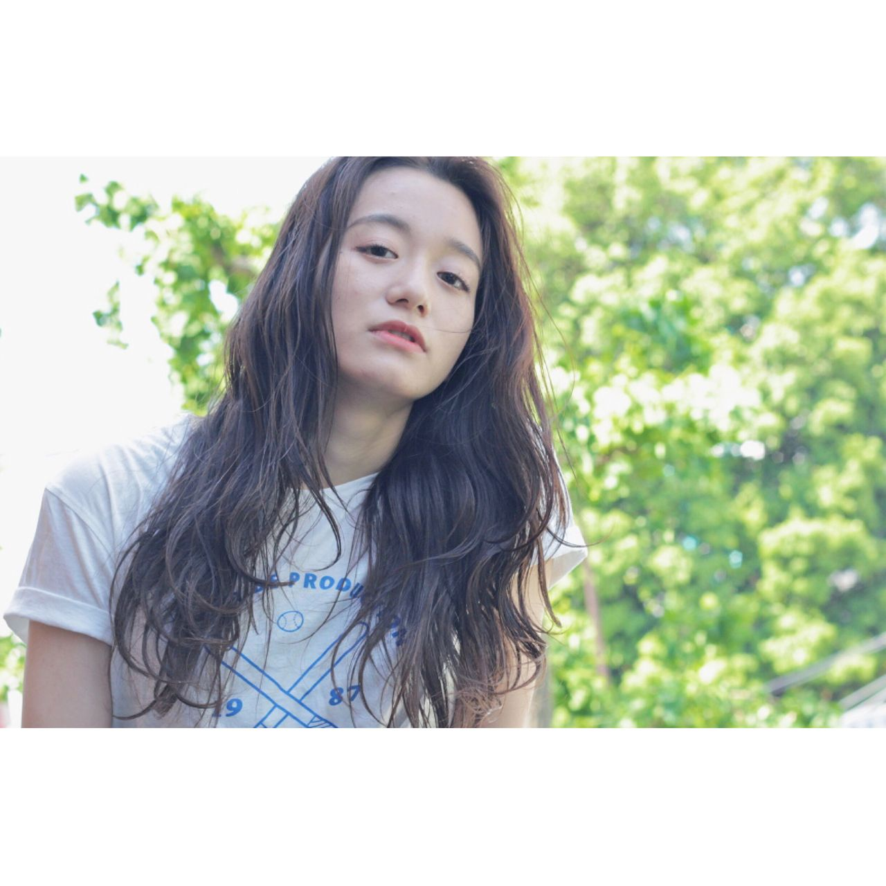 ナチュラル パンク センターパート ロング ヘアスタイルや髪型の写真・画像   冨永 真太郎 / 人トナリ