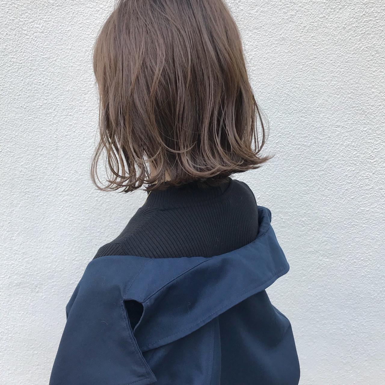 こなれ感 ナチュラル ロブ ハイライト ヘアスタイルや髪型の写真・画像   KENTO.NOESALON / NOE SALON