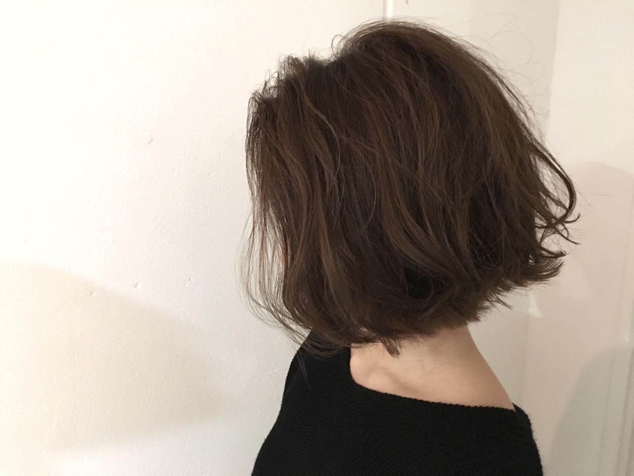 ナチュラル 大人かわいい 外国人風 ボブ ヘアスタイルや髪型の写真・画像   杉谷 将也 / DiLL / DiLL