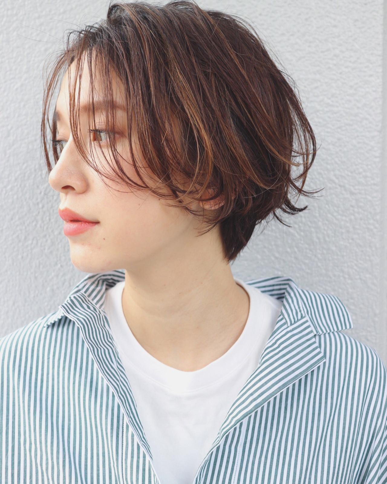外国人風 ハイライト 色気 ニュアンスヘアスタイルや髪型の写真・画像
