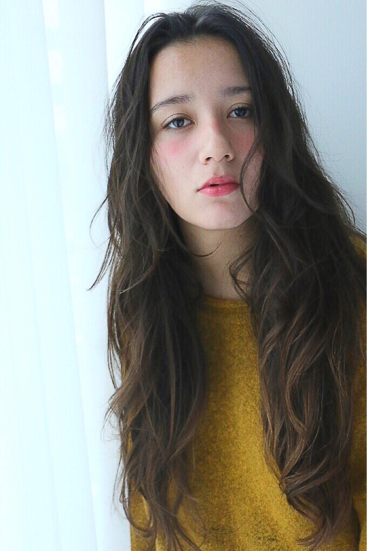 ストリート アッシュ ブラウン 外国人風 ヘアスタイルや髪型の写真・画像   田前 恵 / belta