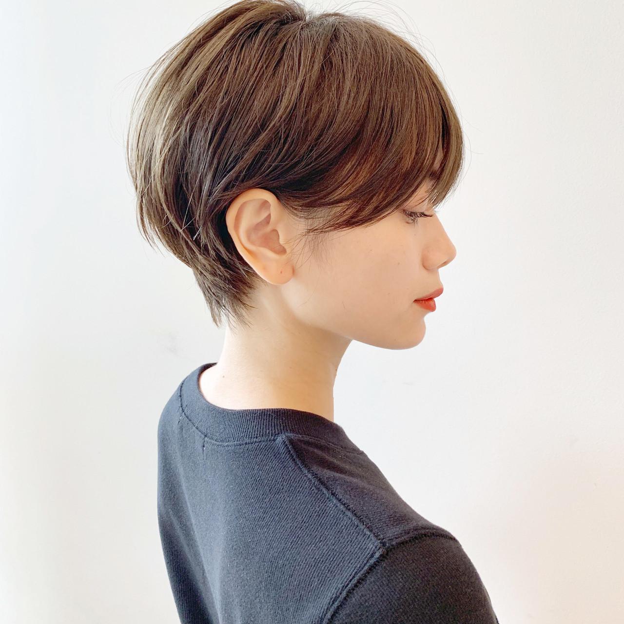スポーツ パーマ デート アウトドア ヘアスタイルや髪型の写真・画像 | ショートヘア美容師 #ナカイヒロキ / 『send by HAIR』