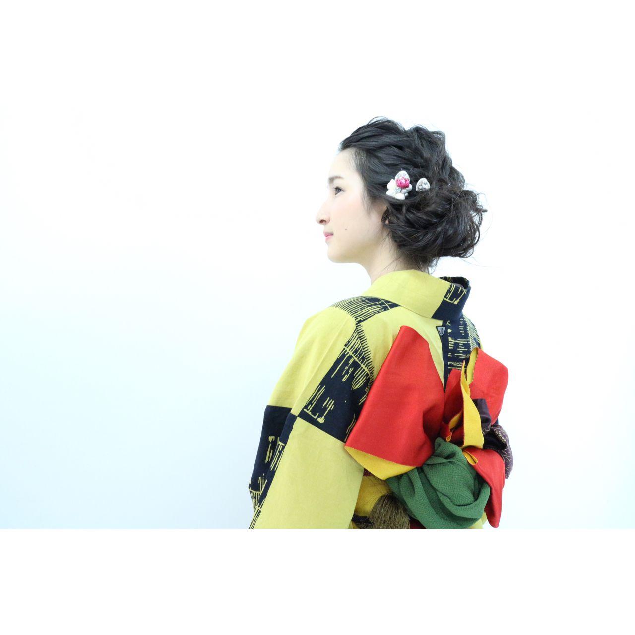 和装に似合う上品な髪型で大和撫子になろう!