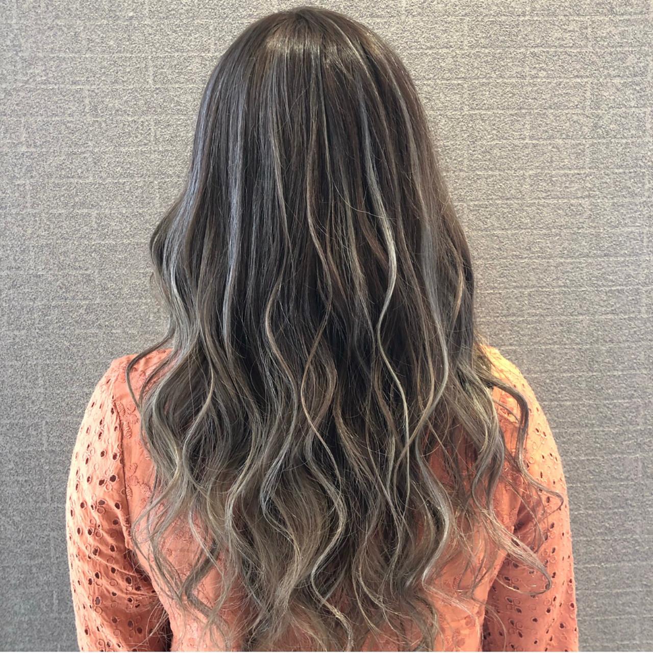 外国人風 成人式 デート セミロング ヘアスタイルや髪型の写真・画像 | アンドウ ユウ / Agu hair edge