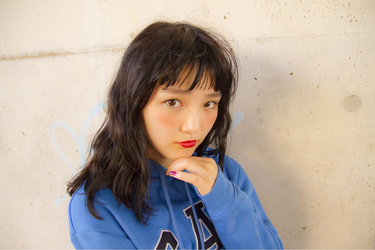 ナチュラル リラックス アウトドア デート ヘアスタイルや髪型の写真・画像   岩切陽平 / Hair&Beauty AURA