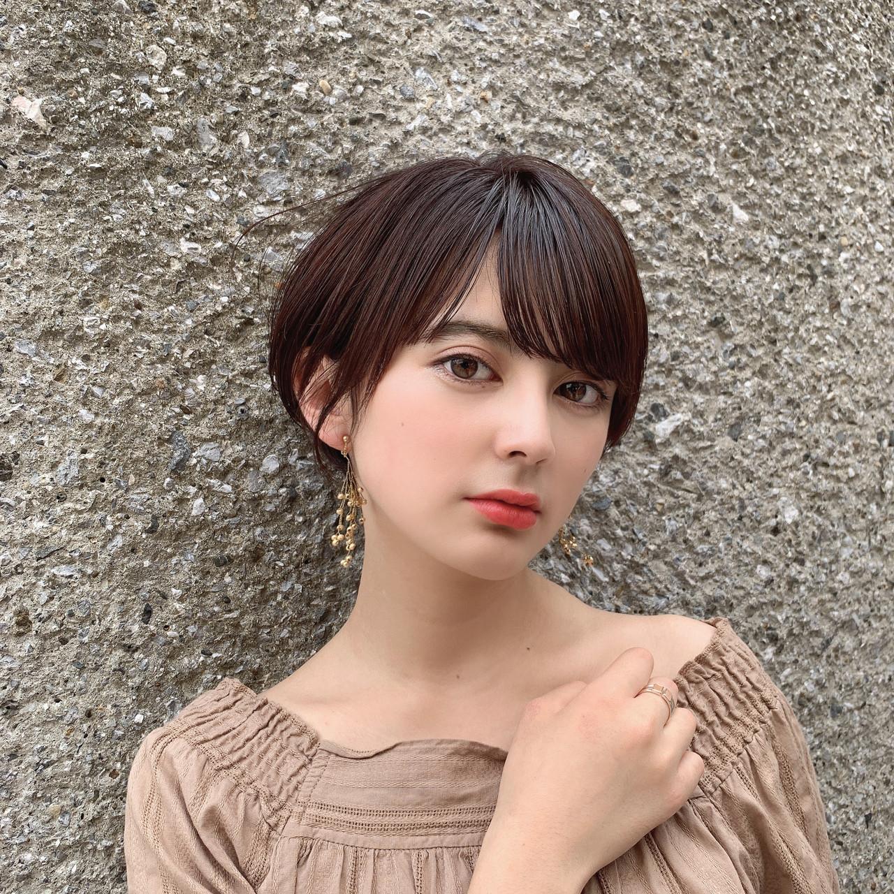 ショート 大人可愛い ショートヘア 髪質改善 ヘアスタイルや髪型の写真・画像   渡辺 昇太 / ofhair