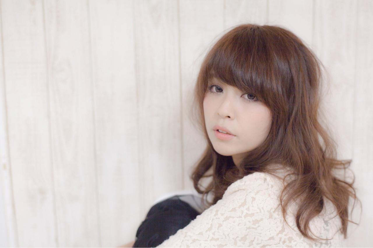 大人かわいい パーマ 簡単 ナチュラル ヘアスタイルや髪型の写真・画像 | 石川宏一 / AGATA hair