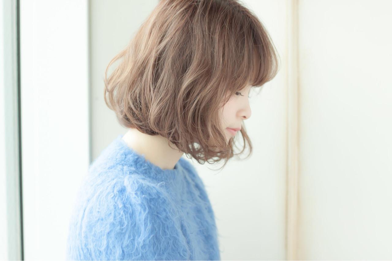外国人風 愛され モテ髪 ストリートヘアスタイルや髪型の写真・画像