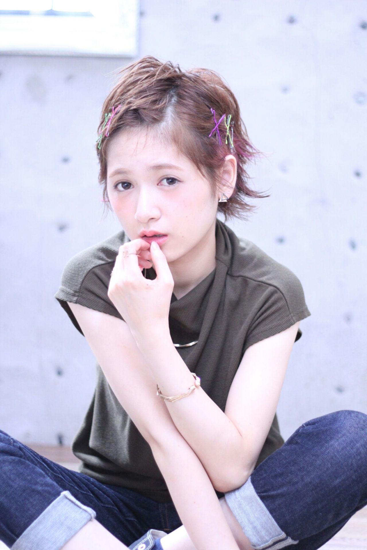 知らなかった?実はオンナ度が高い、魅惑の黒髪ベリーショート♡ Wataru Maeda