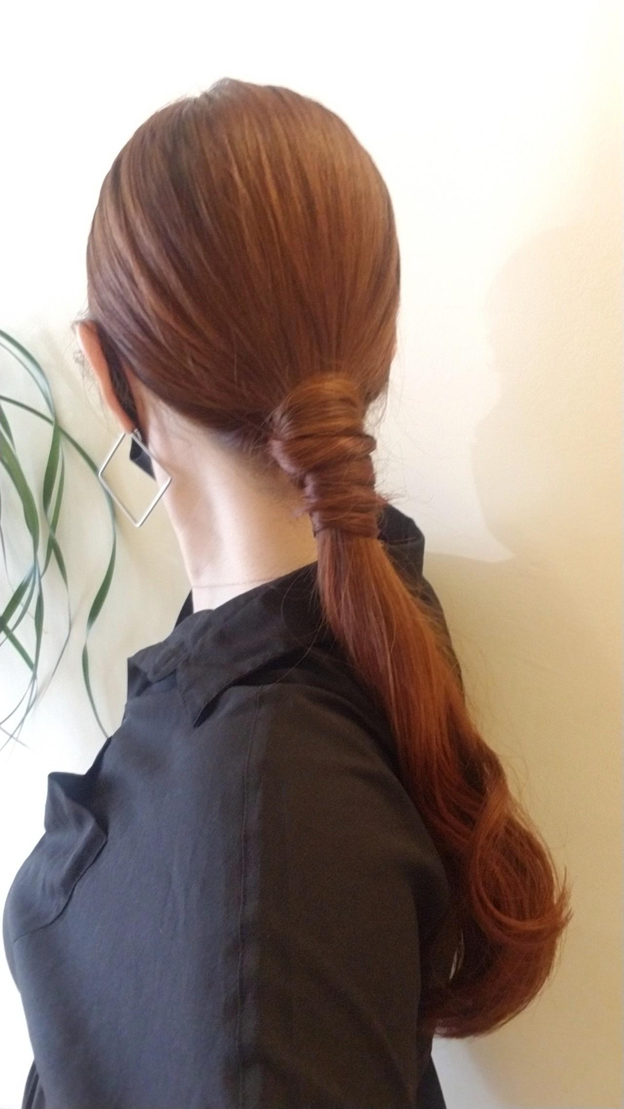 不器用さん向け簡単アレンジ セルフヘアアレンジ ナチュラル 簡単ヘアアレンジ ヘアスタイルや髪型の写真・画像