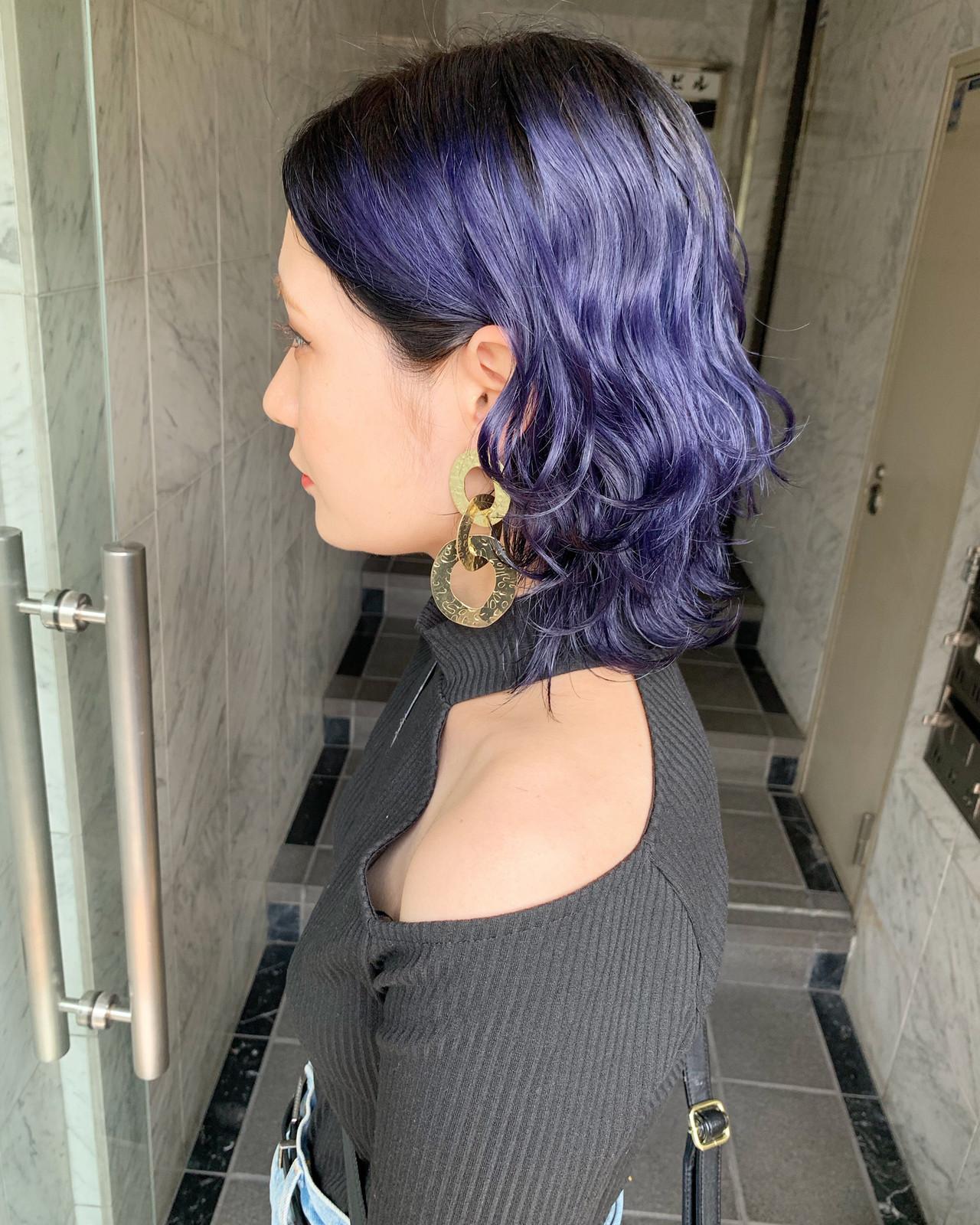 ミルクティー ストリート 韓国ヘア 透明感カラー ヘアスタイルや髪型の写真・画像 | yoshiki / chainon 梅田店