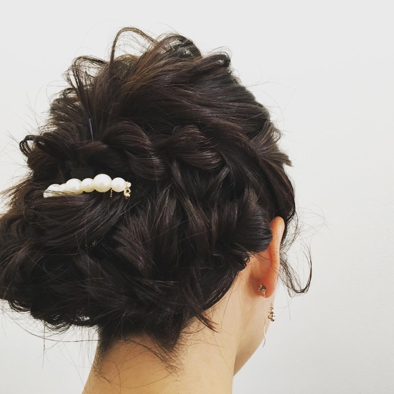 上品 エレガント セミロング 女子会ヘアスタイルや髪型の写真・画像