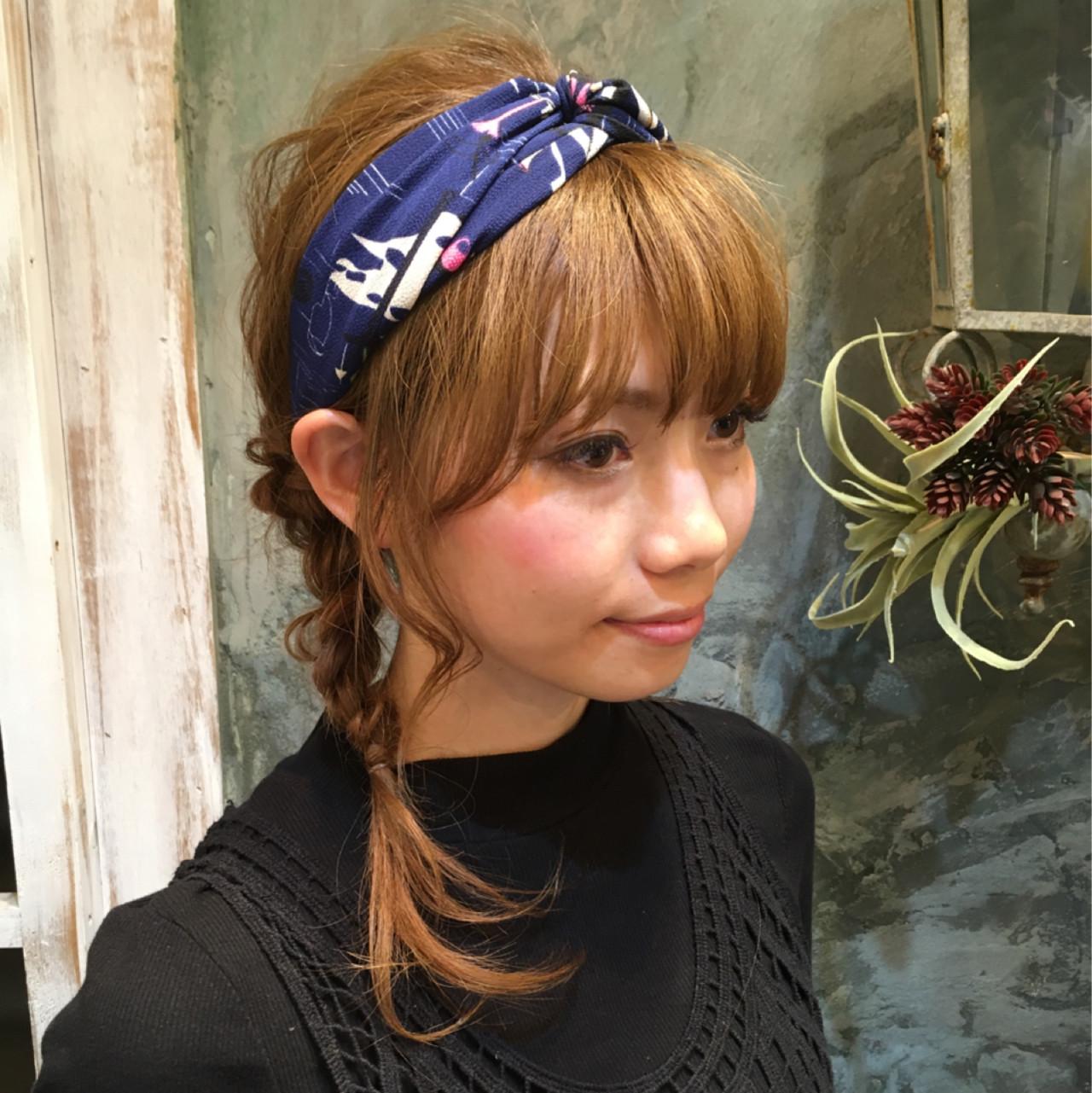 簡単ヘアアレンジ ミディアム ヘアアレンジ 大人かわいい ヘアスタイルや髪型の写真・画像 | 西川 賢一 blast / blast