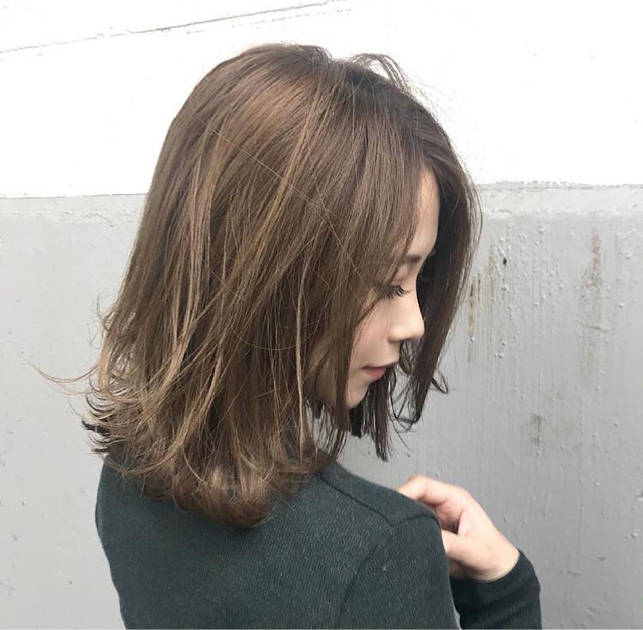 デート アンニュイ 透明感 秋ヘアスタイルや髪型の写真・画像