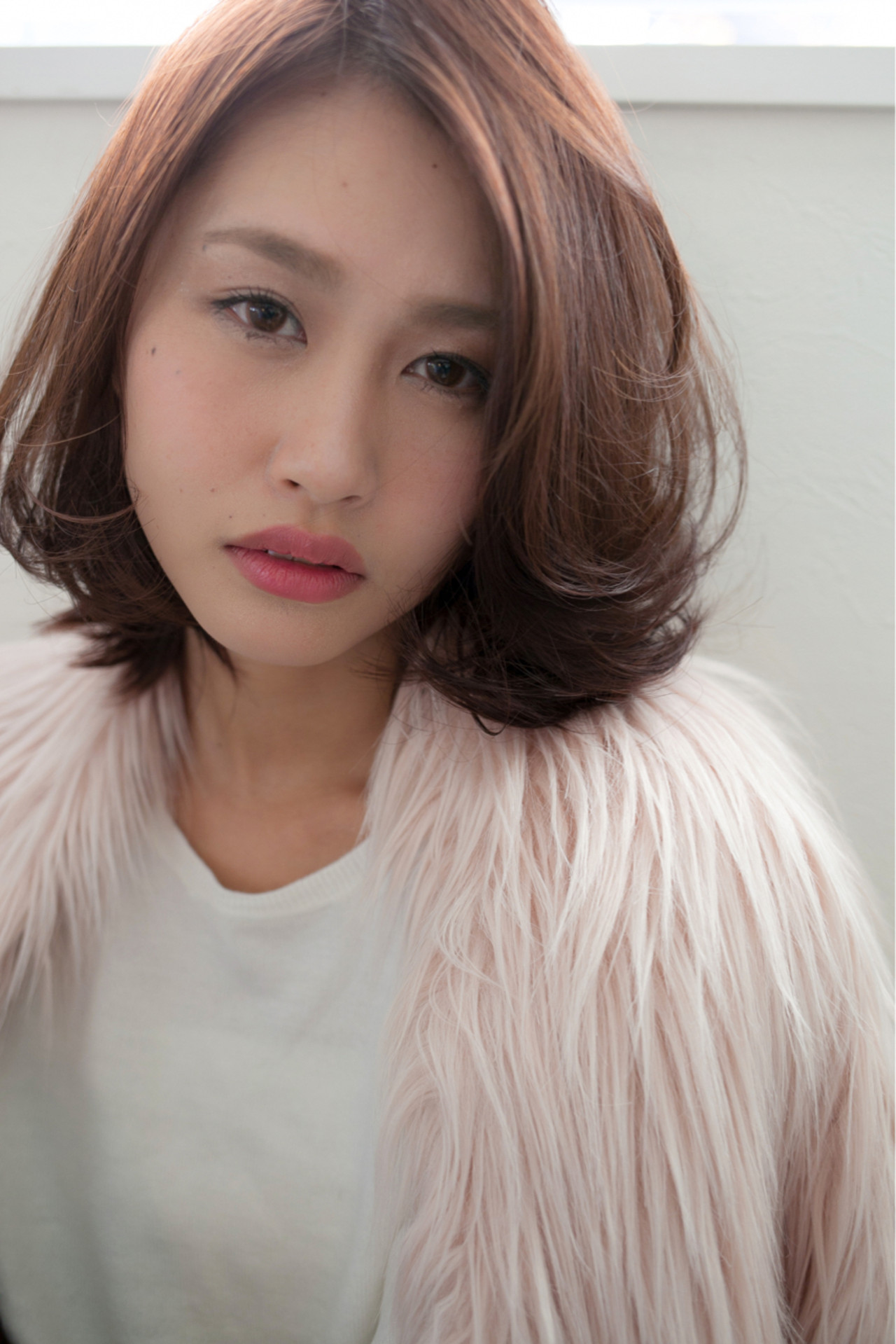 小顔 ボブ ナチュラル こなれ感 ヘアスタイルや髪型の写真・画像 | 高田 紘希 / Rr hair salon