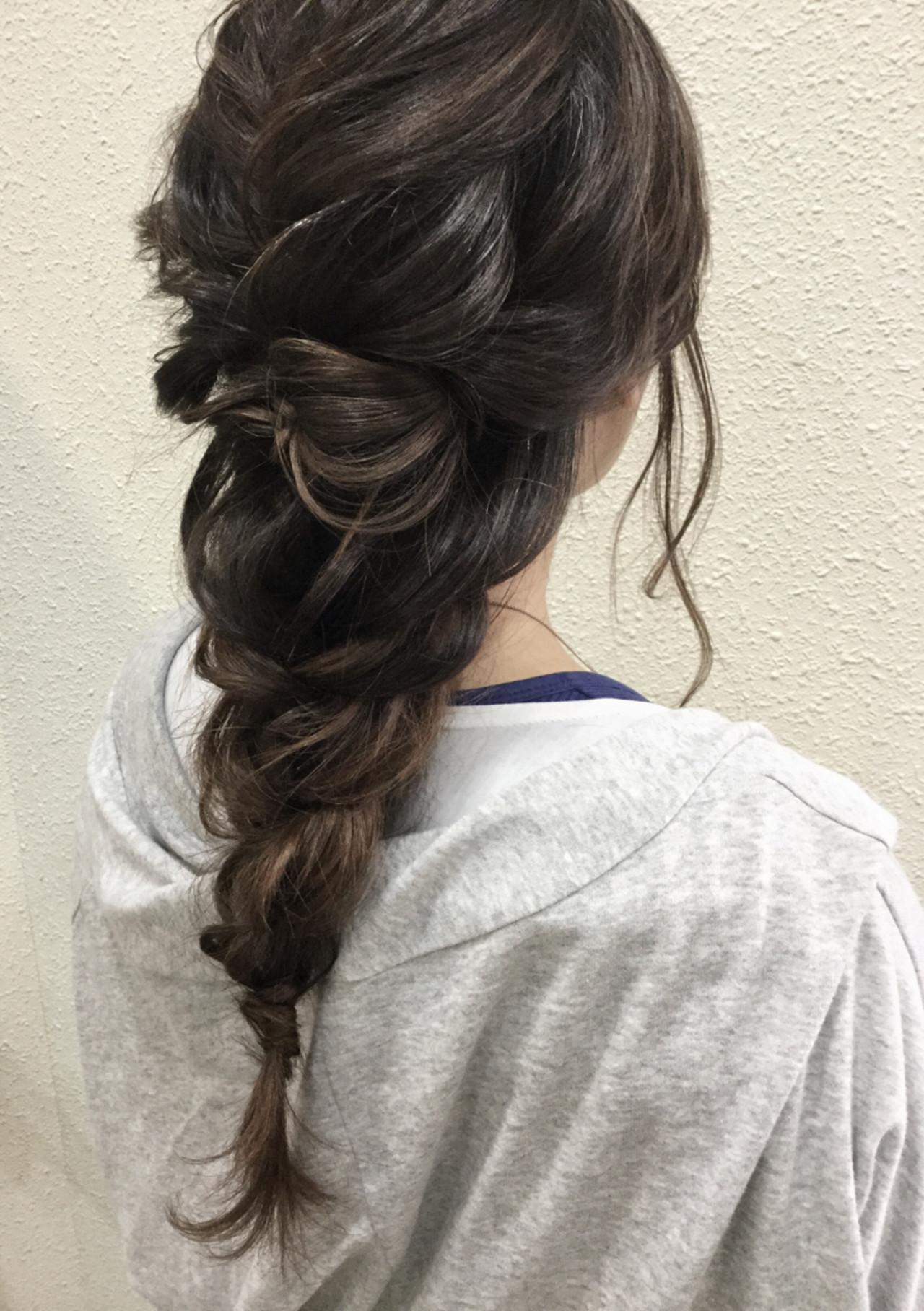 ショート 大人かわいい ロング 二次会 ヘアスタイルや髪型の写真・画像 | 中川 武 / 以彩