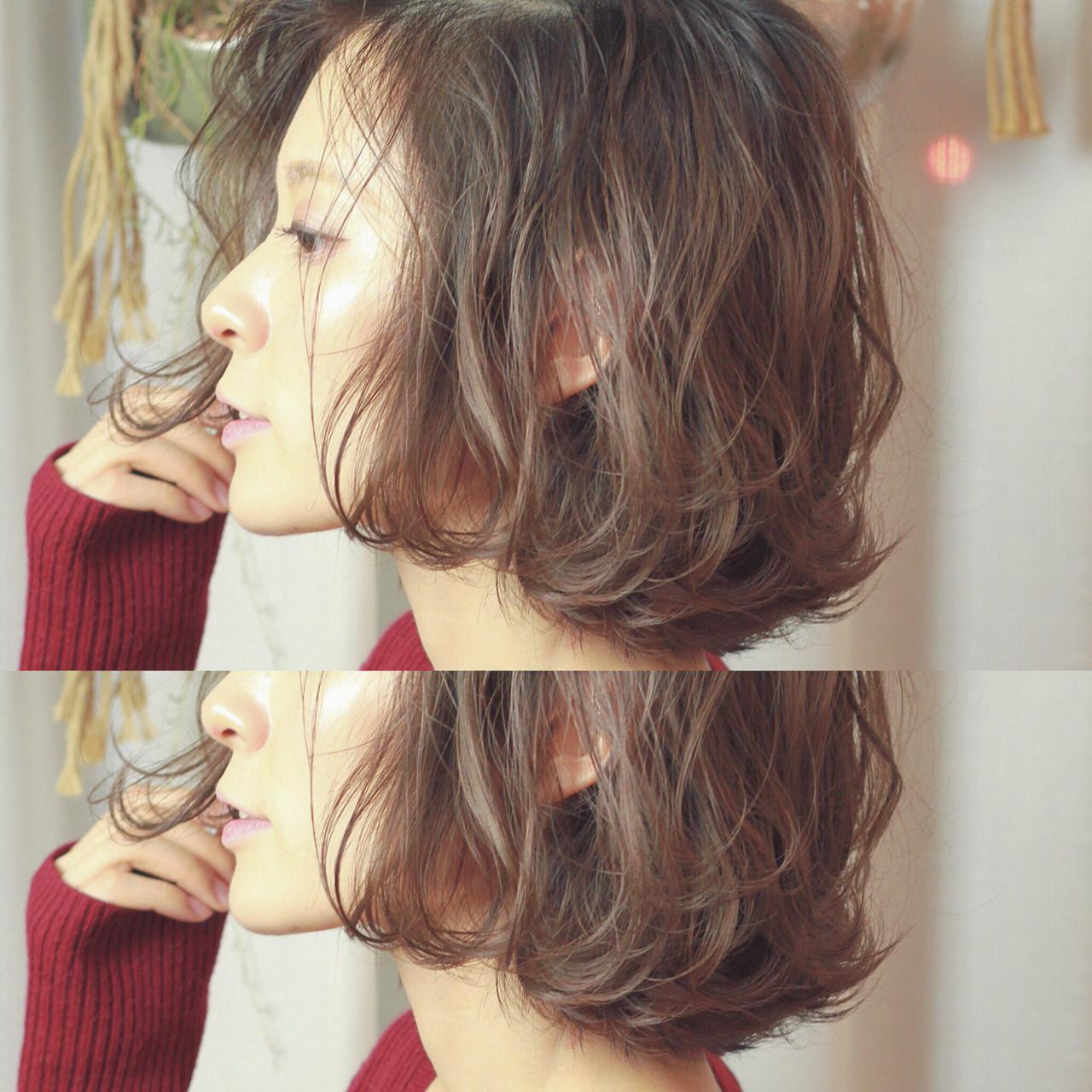 コンサバ 外ハネ ボブ ハイライト ヘアスタイルや髪型の写真・画像 | 須賀 ユウスケ / Rizm