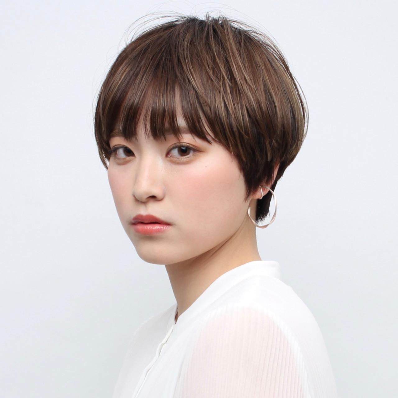 ナチュラル ショート デート 大人女子 ヘアスタイルや髪型の写真・画像 | 石井優弥 / 『 PEEK-A-BOO原宿 』