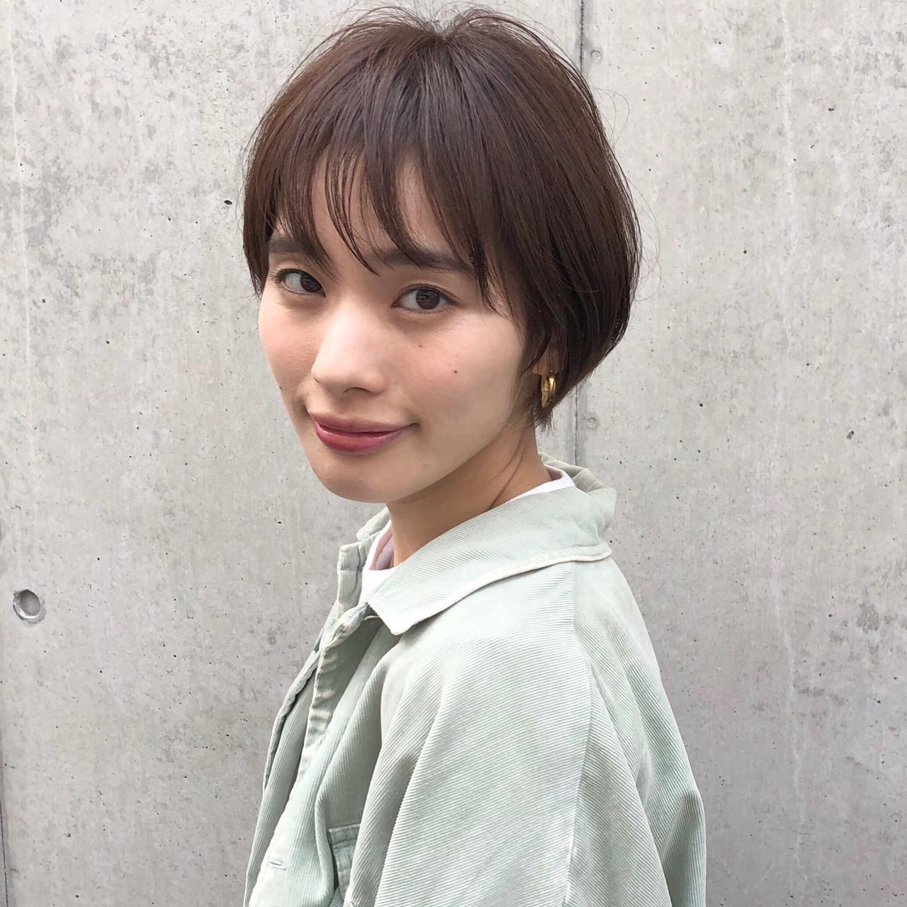 ショートヘア ナチュラル ショート ショート女子 ヘアスタイルや髪型の写真・画像 | 高田 興 / レジーロ