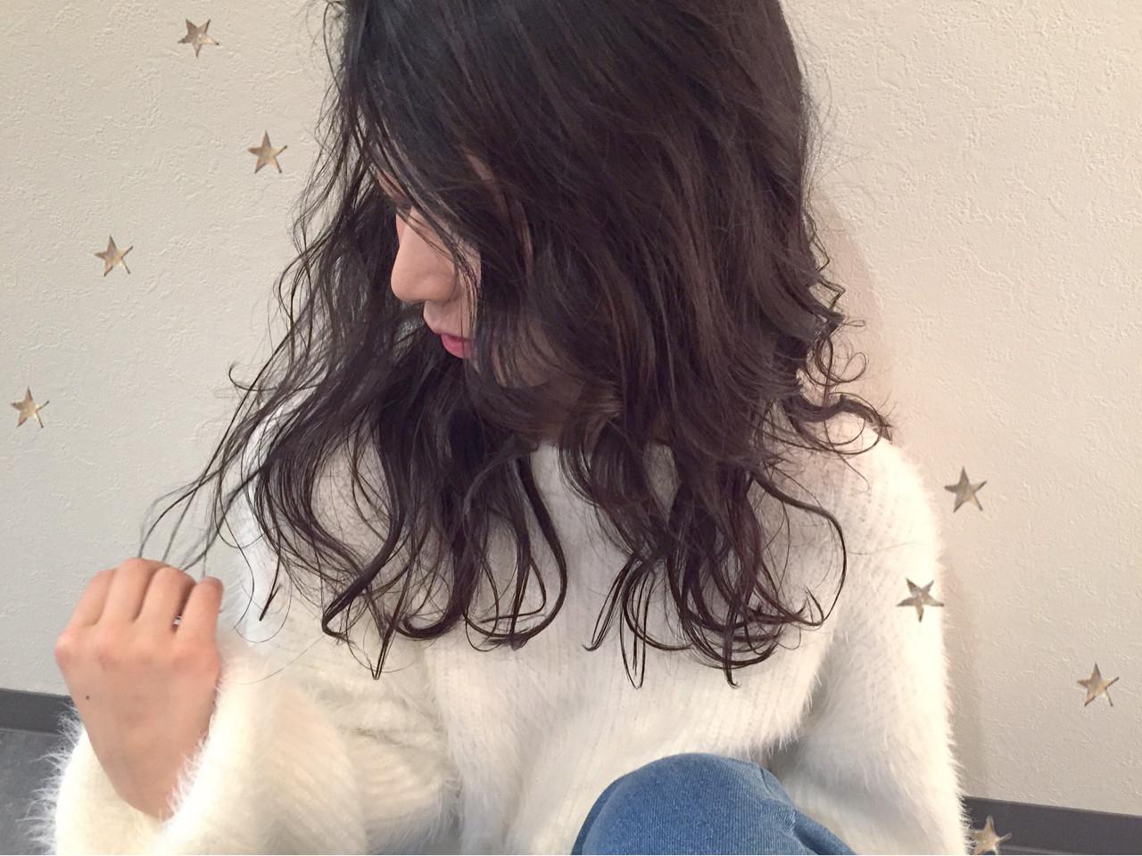 ナチュラル ゆるふわ ロング ヘアスタイルや髪型の写真・画像 | 市川千夏*札幌 / salon AKIRA