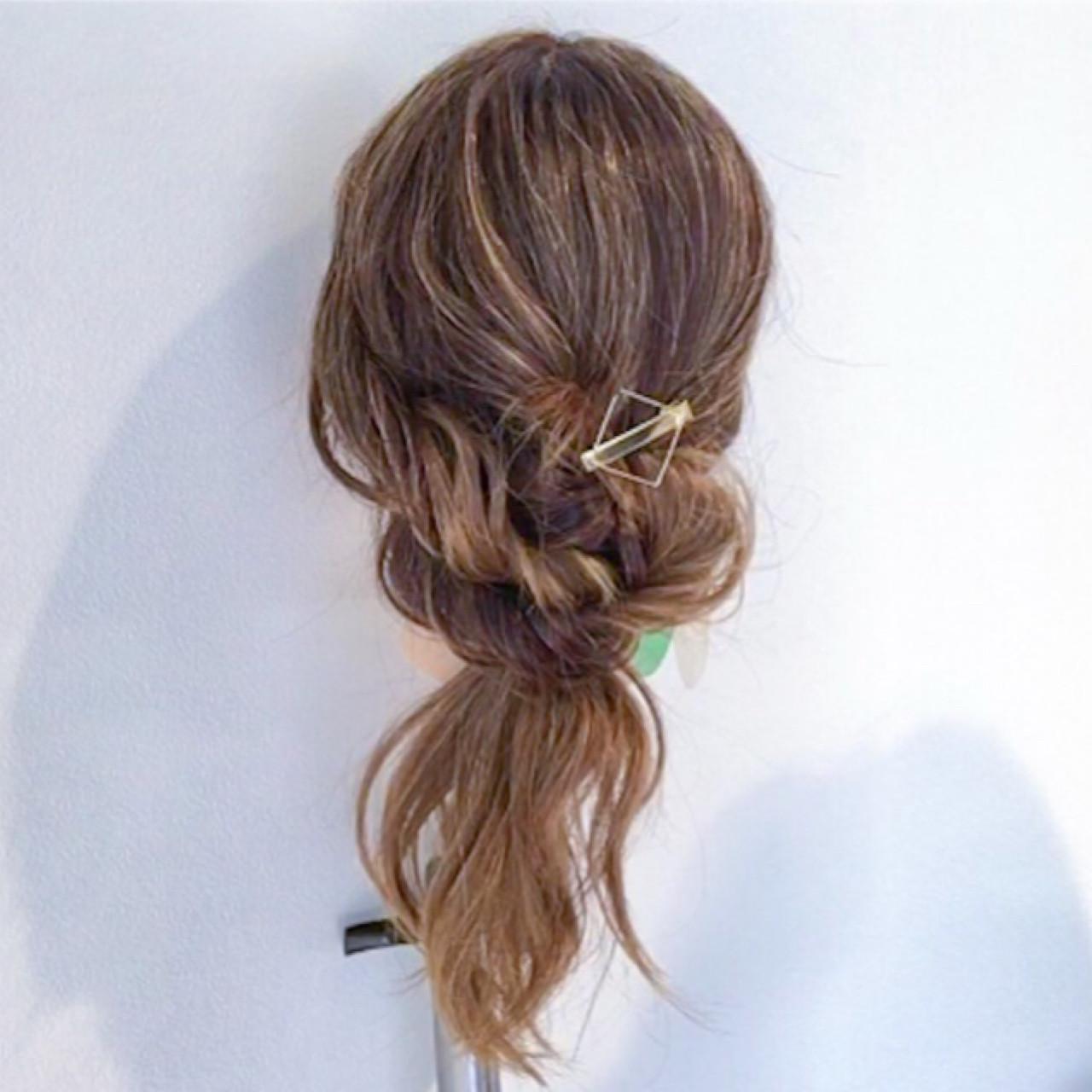 セミロング デート ナチュラル 女子会 ヘアスタイルや髪型の写真・画像 | 美容師HIRO/Amoute代表 / Amoute/アムティ