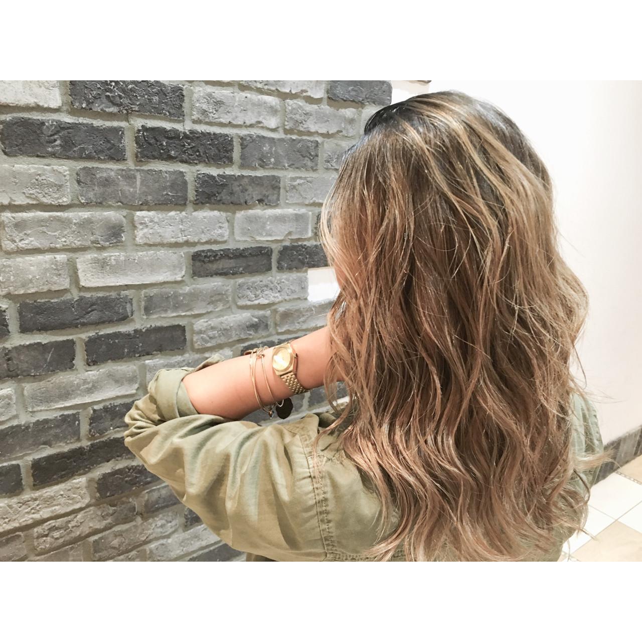 ストリート ブラウン グラデーションカラー ウェットヘア ヘアスタイルや髪型の写真・画像 | 斧江 和也 / ROOTS IRIE