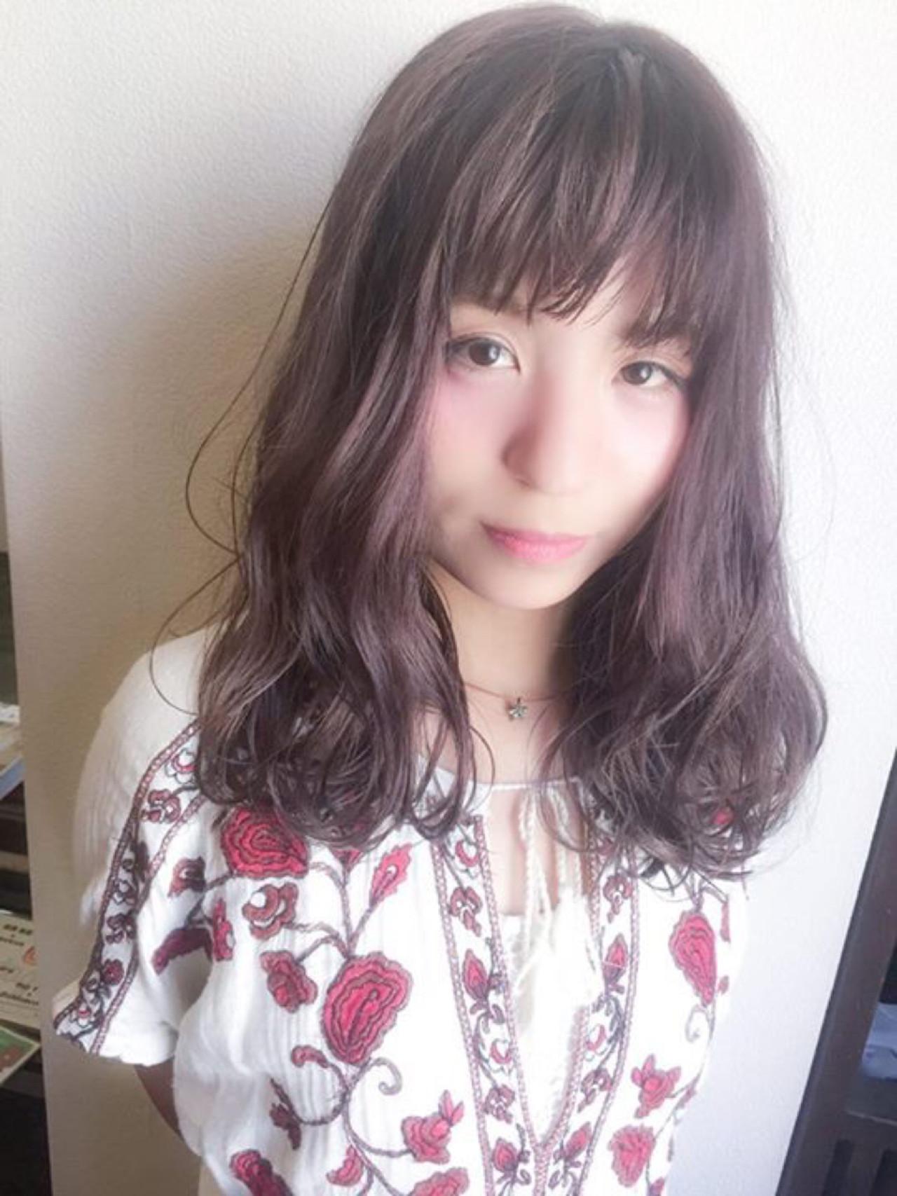 ラベンダーアッシュなあなたの髪色を旬に♪うっとり色落ちを楽しもう 田渕 英和 / vicushair