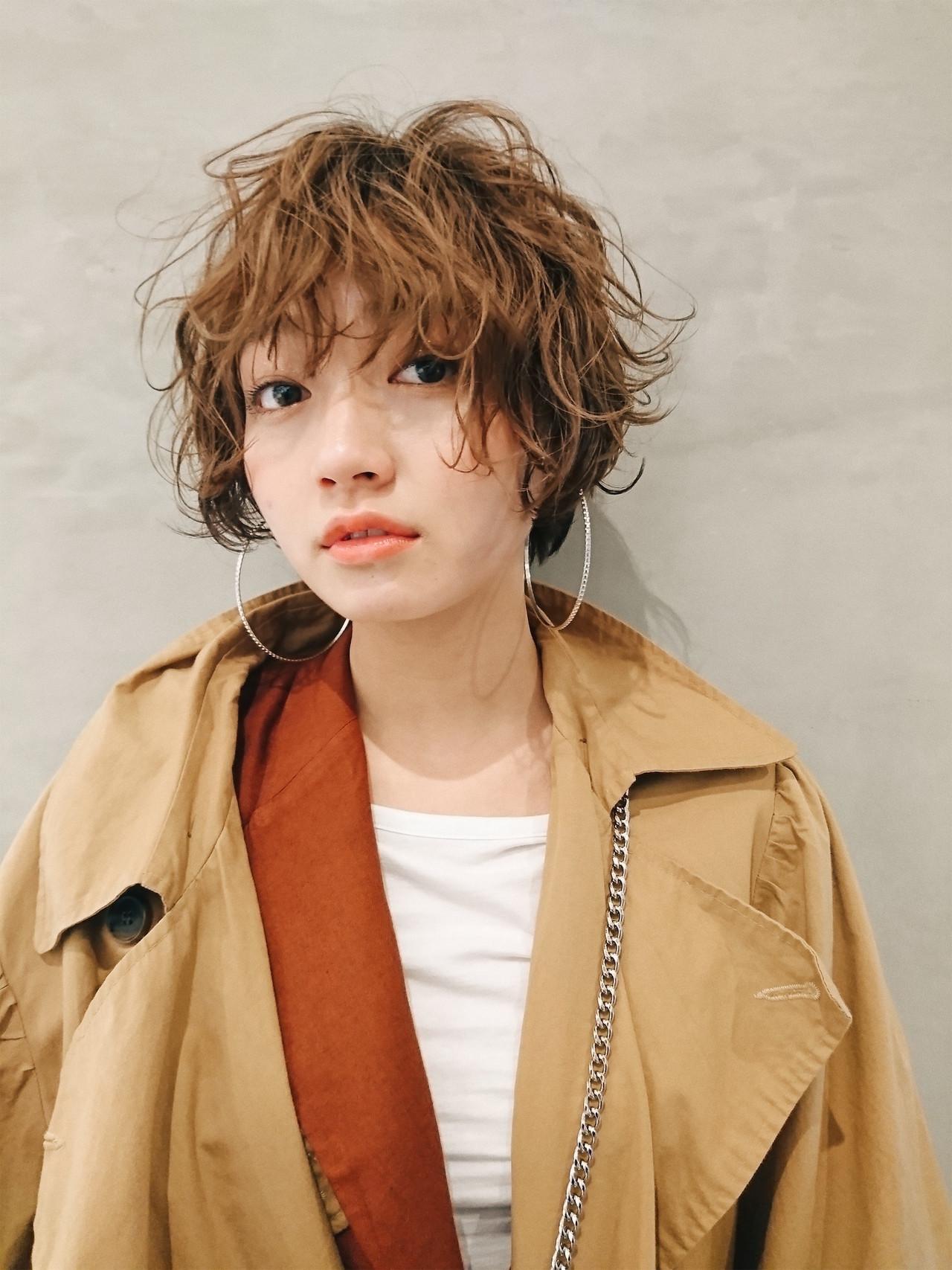 ボブ ナチュラル ショートボブ PEEK-A-BOO ヘアスタイルや髪型の写真・画像 | 阿藤俊也 フェイスフレーミング / PEEK-A-BOO NEWoMan新宿