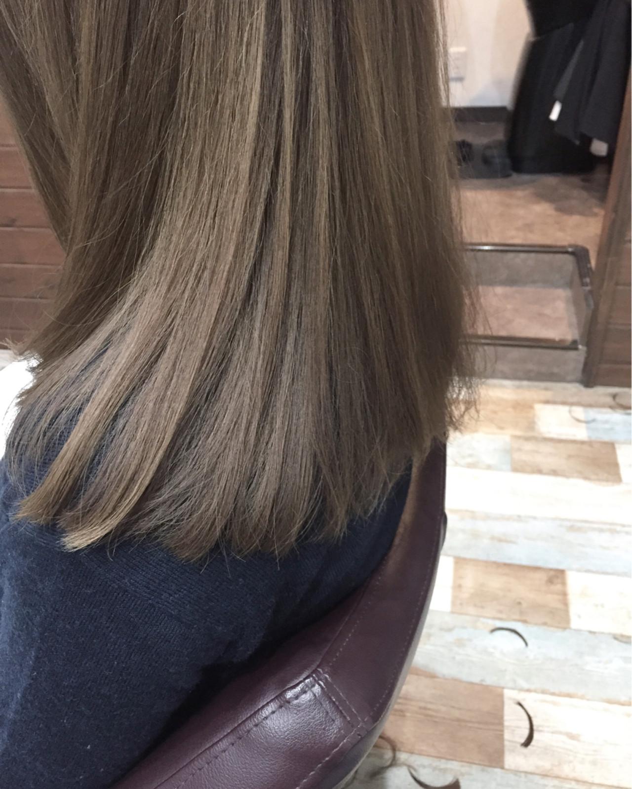 モテ髪 抜け感 愛され ナチュラル ヘアスタイルや髪型の写真・画像 | NAOTO / atelier Lo-nA haircare & design