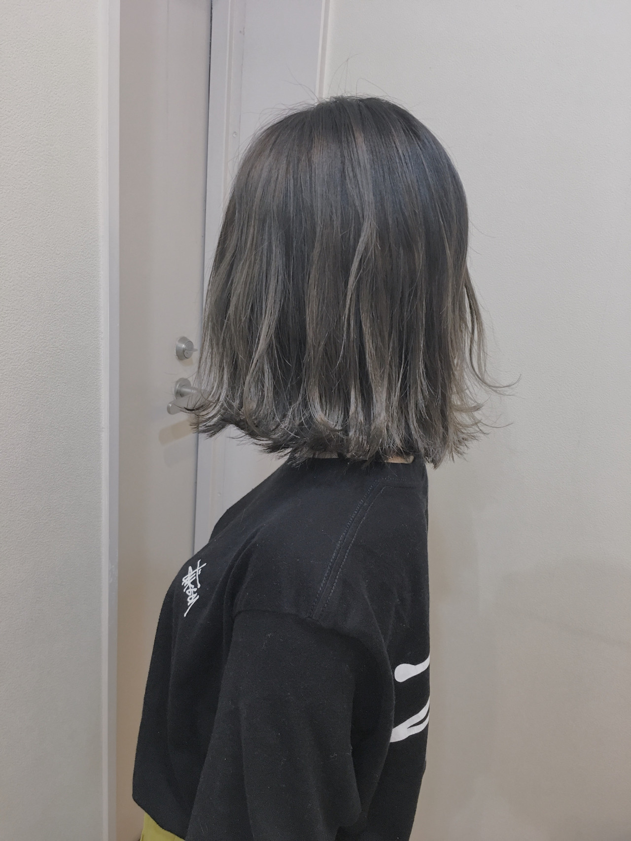 3Dハイライト 大人ハイライト ハイライト バレイヤージュヘアスタイルや髪型の写真・画像