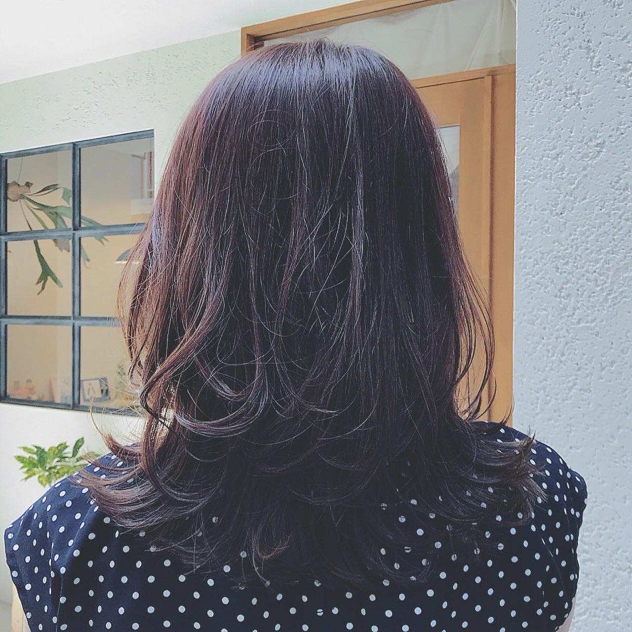 大人かわいい デート オフィス フェミニン ヘアスタイルや髪型の写真・画像 | 浦川由起江 / nanon