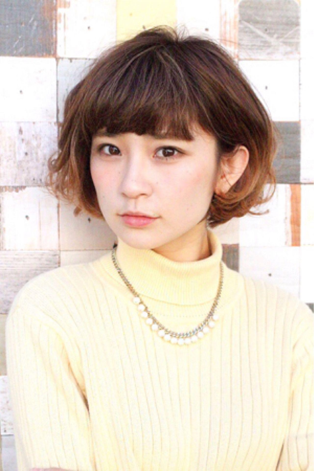 ショートカットの魅力UPはグラデーションカラーで!髪色の魔法で変身♡ 小俣 里奈