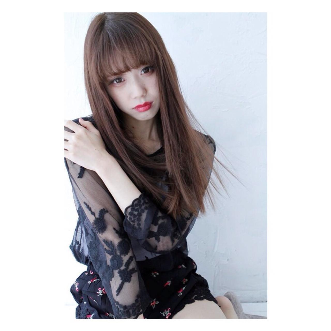どんなイメージになりたい?前髪ありと前髪なしを徹底分析! Asuka Suzuki