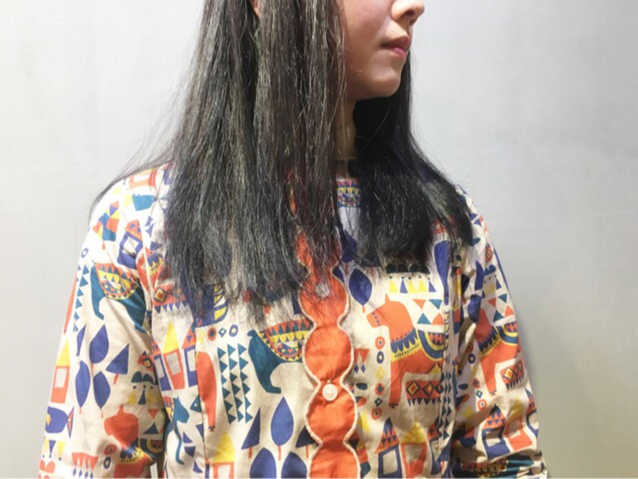 ストリート ミディアム ネイビーブルー ピンクラベンダー ヘアスタイルや髪型の写真・画像 | COM PASS 太一 / COM PASS