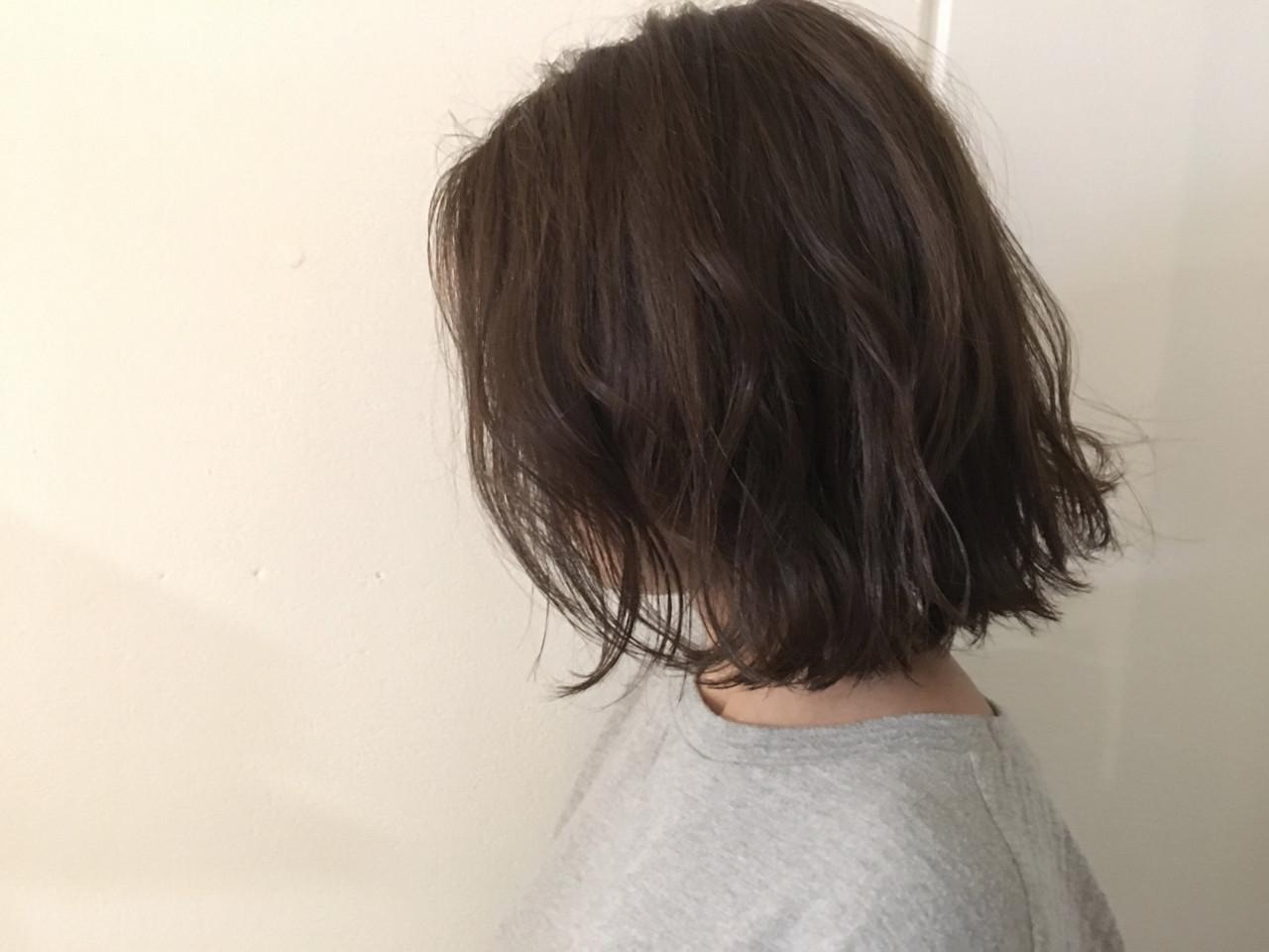 外ハネ 抜け感 ナチュラル グレージュ ヘアスタイルや髪型の写真・画像 | 杉谷 将也 / DiLL / DiLL