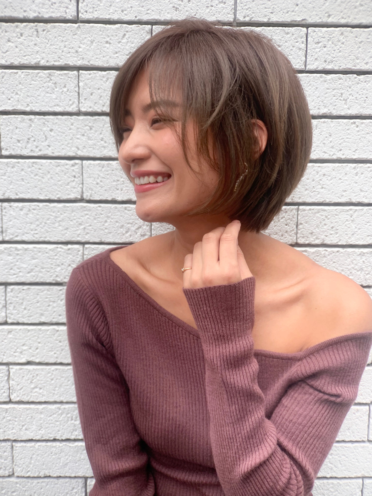 ショートヘア ショート  前髪あり ヘアスタイルや髪型の写真・画像 | 山口 健太 / Lond ange