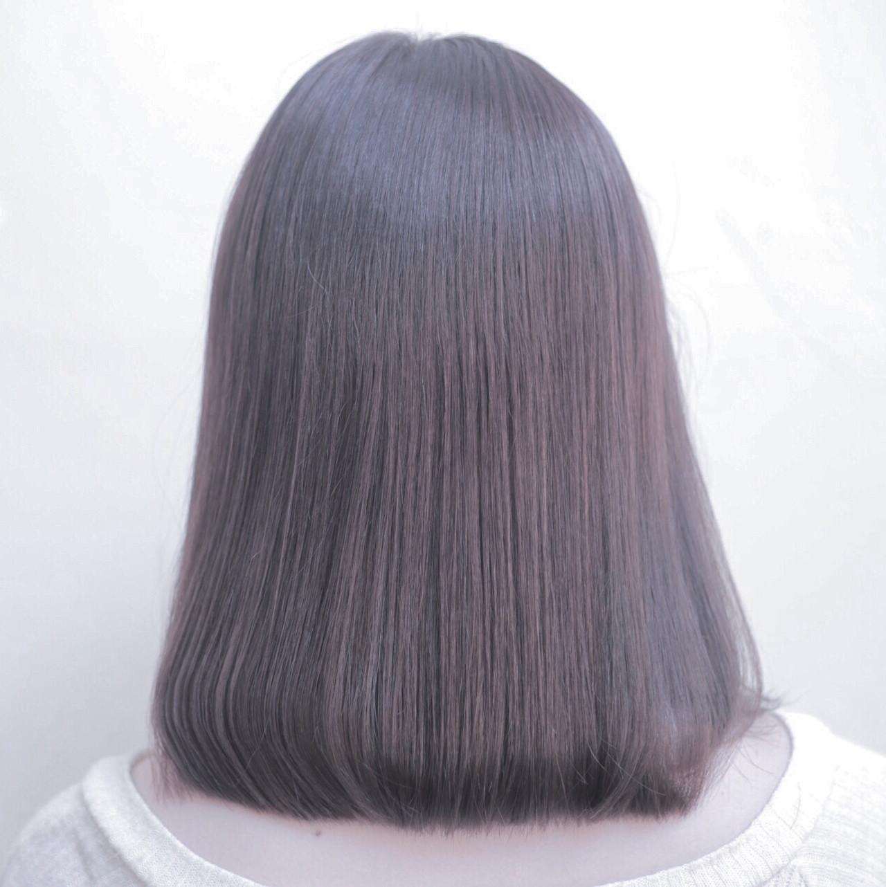 色気 大人かわいい ボブ 外国人風 ヘアスタイルや髪型の写真・画像 | 坂本圭太朗 / bado