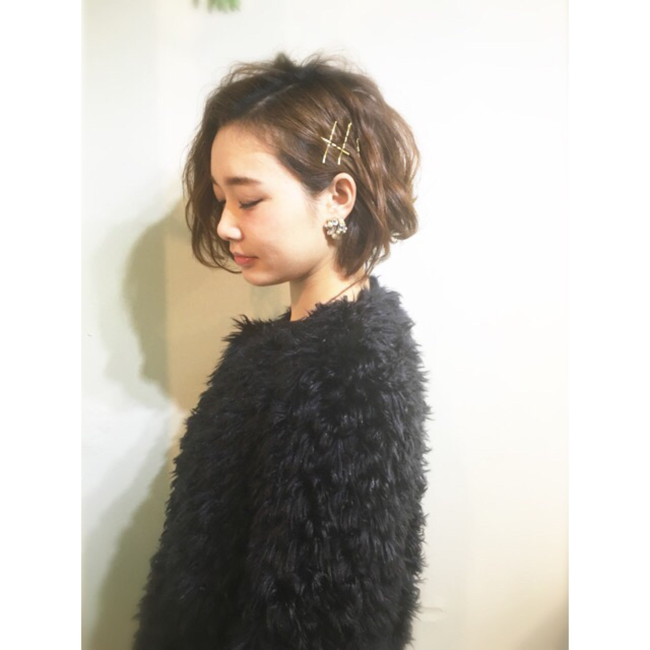 ハーフアップ 簡単ヘアアレンジ ナチュラル 大人かわいい ヘアスタイルや髪型の写真・画像 | COM PASS 太一 / COM PASS