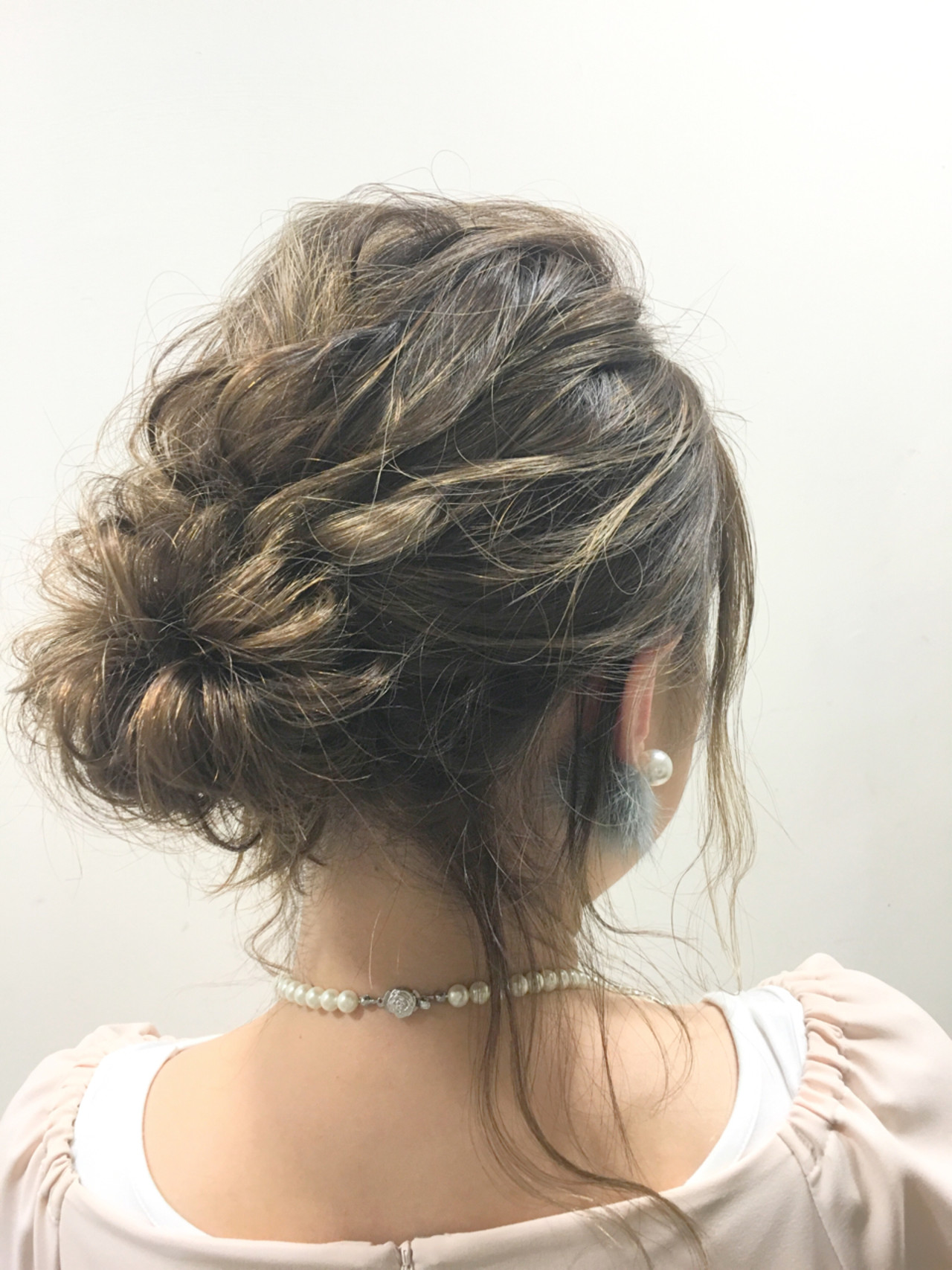 大人女子 ヘアアレンジ 小顔 こなれ感 ヘアスタイルや髪型の写真・画像 | 斧江 和也 / ROOTS IRIE
